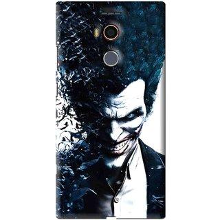 Snooky Printed Freaking Joker Mobile Back Cover For Gionee Elife E8 - Black