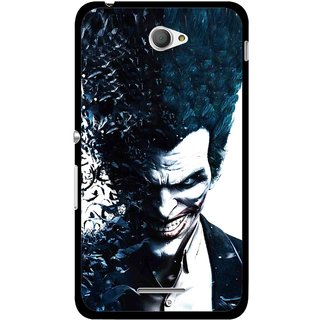 Buy Snooky Printed Freaking Joker Mobile Back Cover For Sony Xperia E4 - Multicolour Online - Get 77% Off