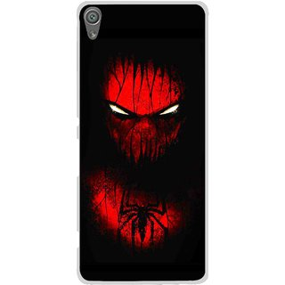 Snooky Printed Spider Eye Mobile Back Cover For Sony Xperia XA1 - Multi