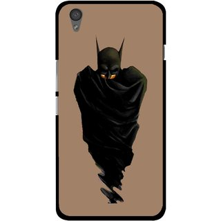 Snooky Printed Hiding Man Mobile Back Cover For One Plus X - Multi
