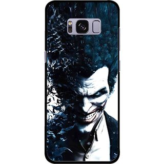 Snooky Printed Freaking Joker Mobile Back Cover For Samsung Galaxy S8 - Multicolour