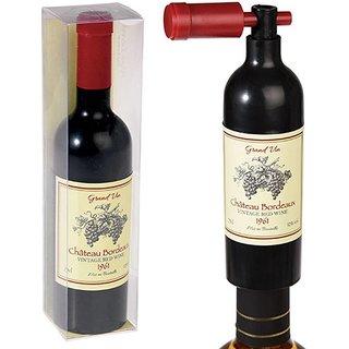 Wine Bottle Shaped Wine bottle opener/ Wine Corkscrew