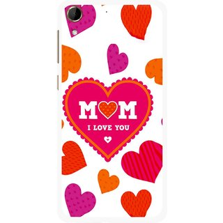 Snooky Printed Mom Mobile Back Cover For HTC Desire 728 - Multi