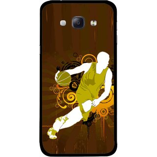 Snooky Printed Chamoins wins Mobile Back Cover For Samsung Galaxy A8 - Multicolour