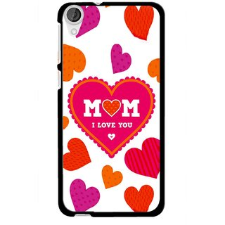 Snooky Printed Mom Mobile Back Cover For HTC Desire 820 - Multi