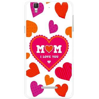 Snooky Printed Mom Mobile Back Cover For Micromax Yu Yureka Plus - Multi