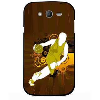 Snooky Printed Chamoins wins Mobile Back Cover For Samsung Galaxy Grand I9082 - Multicolour