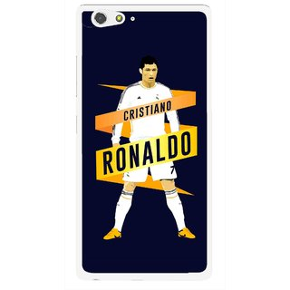 Snooky Printed Ronaldo Mobile Back Cover For Gionee Elife S6 - Multi