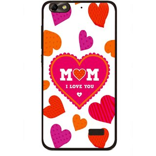 Snooky Printed Mom Mobile Back Cover For Huawei Honor 4C - Multi