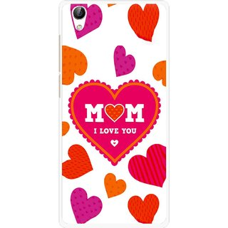 Snooky Printed Mom Mobile Back Cover For Vivo Y51L - Multi