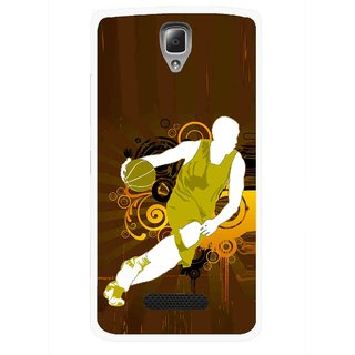 Snooky Printed Chamoins wins Mobile Back Cover For Lenovo A2010 - Multicolour