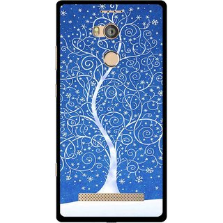 Snooky Printed Wish Tree Mobile Back Cover For Gionee Elife E8 - Multicolour
