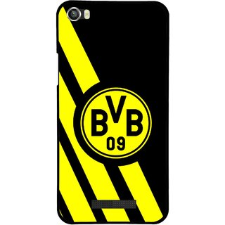 Snooky Printed Sports Logo Mobile Back Cover For Lava Iris X8 - Multi