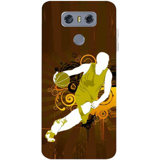 Snooky Printed Chamoins wins Mobile Back Cover For LG G6 - Multicolour