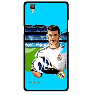 Snooky Printed Football Champion Mobile Back Cover For Oppo F1 - Multi