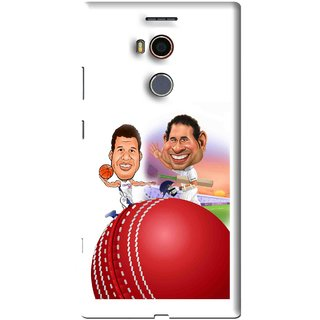 Snooky Printed Play Cricket Mobile Back Cover For Gionee Elife E8 - White