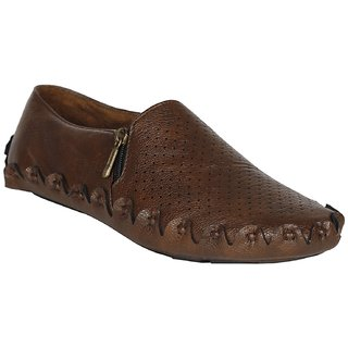 GurSmith Brown Loafers For Men's  GS5022