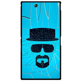 Snooky Printed Beard Man Mobile Back Cover For Sony Xperia Z Ultra - Multicolour