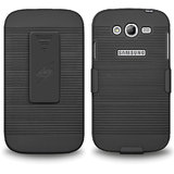 Amzer® 95513 Shellster™ - Black For Samsung GALAXY Grand Duos GT-I9082