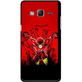 Snooky Printed Super Hero Mobile Back Cover For Samsung Tizen Z3 - Multicolour