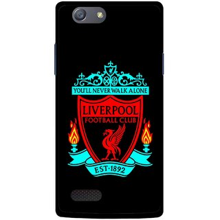 Snooky Printed Football Club Mobile Back Cover For Oppo Neo 7 - Multicolour
