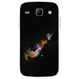Snooky Printed All is Right Mobile Back Cover For Samsung Galaxy Core - Multicolour