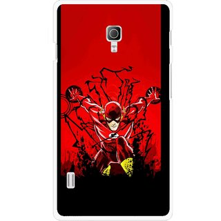 Snooky Printed Super Hero Mobile Back Cover For Lg Optimus L7 II P715 - Multicolour