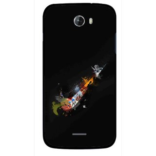 Snooky Printed All is Right Mobile Back Cover For Micromax Bolt A068 - Multicolour