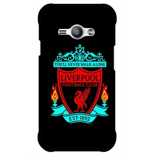 Snooky Printed Football Club Mobile Back Cover For Samsung Galaxy Ace J1 - Multicolour