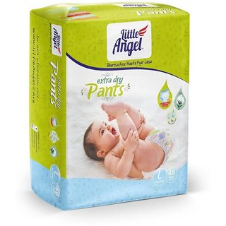 Little Angel Baby Diaper 48Pcs - L