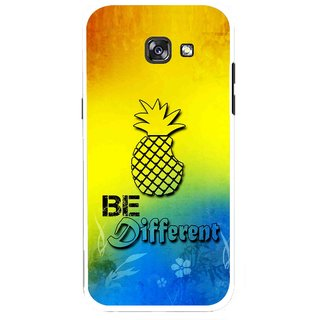 Snooky Printed Be Different Mobile Back Cover For Samsung Galaxy A5 (2017) - Multicolour
