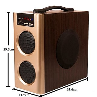 Flow Muzic Wave Boom Box with Built in FM USB Bluetooth and Aux Feature