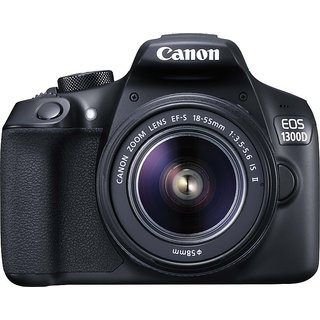 Canon EOS 1300D with (EF S18-55 IS II Lens) DSLR Camera: Buy Canon ...