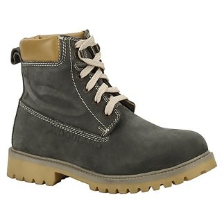 Woodland Mens Gray Boots