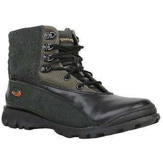 Woodland Men's Black Boots