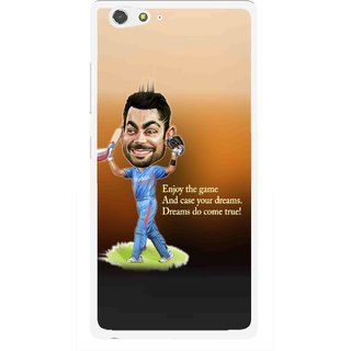 Snooky Printed True Dream Mobile Back Cover For Gionee Elife S6 - Multi