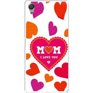 Snooky Printed Mom Mobile Back Cover For Sony Xperia X - Multicolour