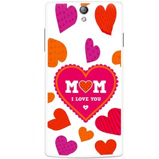 Snooky Printed Mom Mobile Back Cover For Oppo Find 5 Mini - Multicolour