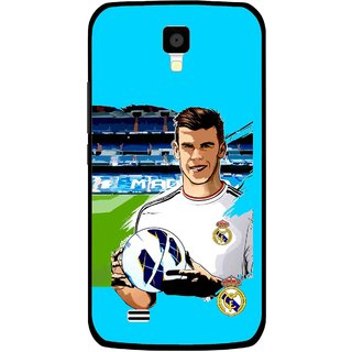 Snooky Printed Football Champion Mobile Back Cover For Gionee Pioneer P2S - Multicolour