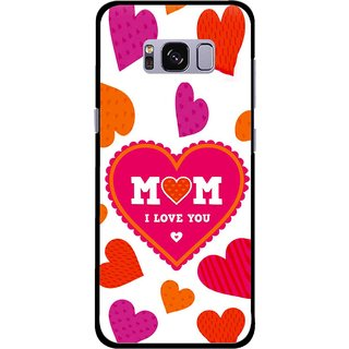 Snooky Printed Mom Mobile Back Cover For Samsung Galaxy S8 - Multicolour