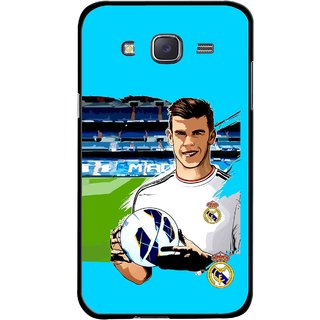 Snooky Printed Football Champion Mobile Back Cover For Samsung Galaxy J7 - Multicolour