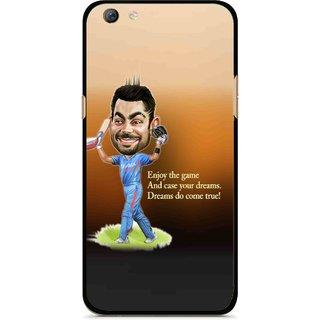 Snooky Printed True Dream Mobile Back Cover For Oppo F3 plus - Multi