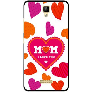Snooky Printed Mom Mobile Back Cover For Gionee P7 - Multicolour