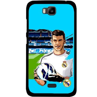 Snooky Printed Football Champion Mobile Back Cover For Huawei Honor Bee - Multicolour