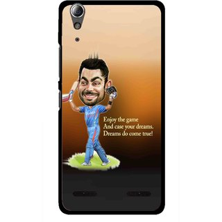 Snooky Printed True Dream Mobile Back Cover For Lenovo A6000 - Multi