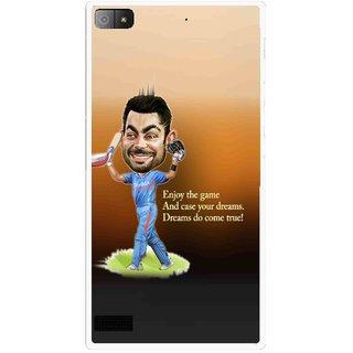 Snooky Printed True Dream Mobile Back Cover For Blackberry Z3 - Multi