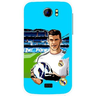 Snooky Printed Football Champion Mobile Back Cover For Micromax Canvas 2 A110 - Multicolour