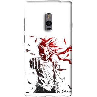 Snooky Printed Marshalat Mobile Back Cover For OnePlus 2 - Multi