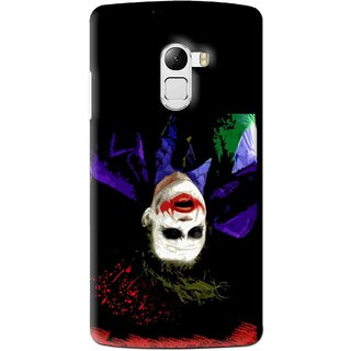 Snooky Printed Hanging Joker Mobile Back Cover For Lenovo K4 Note - Multi