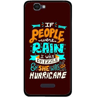 Snooky Printed Monsoon Mobile Back Cover For Micromax Canvas 2 A120 - Multi